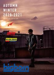 BIGBORN 2020-2021年秋冬カタログ