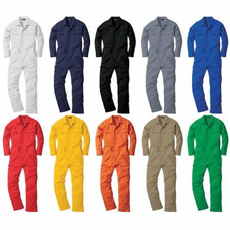 9300 長袖ツナギ服 桑和 SOWA カラーバリエーション